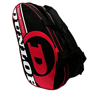 Paddle Tennis Racquet Bag Dunlop Tour Intro Black/Red Review 2018 by Dunlop