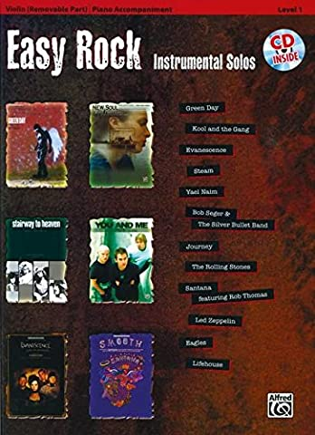 Easy Rock Instrumentals for Strings, Level 1: Violin