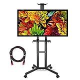 Suptek Mobile TV Cart Universal Ständer Für 32 Bis 60 Zoll Displays VESA Bis Zu 600x400mm 45KG ML5073