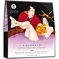 Shunga Love Bath Sensual Lotus, Color Lila - 650 gr