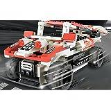 Brigamo302F - Track Turbo, RC Auto, Rennauto ferngesteuert, Bausteine, Ferngesteuertes Auto, inklusive Fernsteuerung - vergleichen Sie die Preise mit anderen bekannten Baustein RC Autos