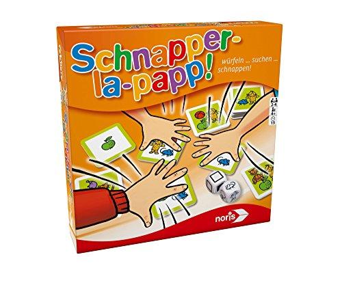 """Preisvergleich Produktbild Noris Spiele 606011638 - """"Schnapper-la-papp"""" Spiel"""