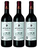 Château Mazeau Bordeaux Rouge AOC Merlot 2014 Trocken (3 x 0.75 l)