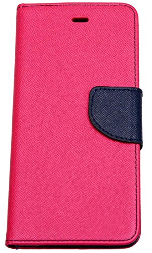 Novo Style Fancy Diary Wallet Flip Cover Case For Lenovo A7000 Pink  available at amazon for Rs.222