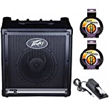 Peavey KB 2 50W Keyboard Amp Includes Keyboard Sustain Pedal and 2 10 Foot Instrument Cables