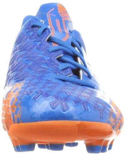 adidas Predator Absolado Lz Traxion Ag, Chaussures de Football Entrainement Homme Bleu (Priblu/Runwht/Orange)
