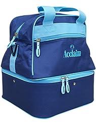 Acclaim Staple Nylon Four Bowl Level Lawn Flat Green Short Mat Locker Bowls Bag