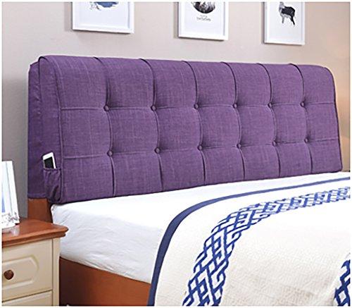 XUEYAN Europäischen Stil Kopfteil Kissen Softpack Bettdecke Bett Rückenpolster große Kissen...