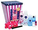 Nivea Gift Set, Girls Night In Gift Pack for Her with 10 Items ( Packaging May Vary)