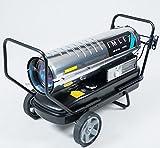 IMLEX Diesel Heizkanone 37 KW Heizkanone Ölheizgerät Diesel Heizung Heißluftgebläse Bauheizer Dieselheizer