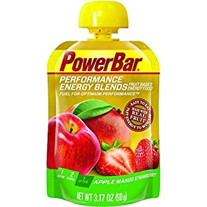 Powerbar Apple Mango Performance Energy Blends - 90 g x 12 Gels, Strawberry