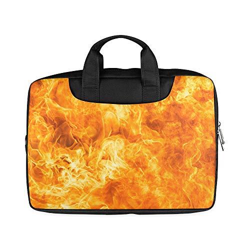 Carteras Textura Llama Fuego Abstracto 13 Pulgadas