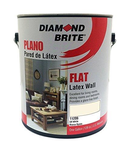 Diamond Brite Paint 11200 1-Gallon Flat Latex