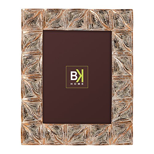 Burkina Home Decor Bilderrahmen, Blutplättchen, Kunstharz, mehrfarbig, 28x 3x 32cm