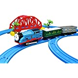Ngel Battery Operated Tomas Train and Track Set with Music and Light