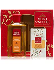 Mont Saint Michel Coffret 2 Produits Eau de Cologne Flacon 250 ml/Savon Cologne 125g