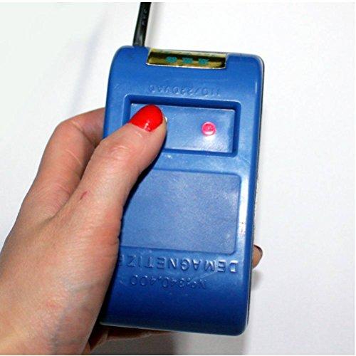 New Blue Uhr Entmagnetisierer, Entmagnetisieren Uhr-Reparatur-Werkzeug Stromspannung 220v