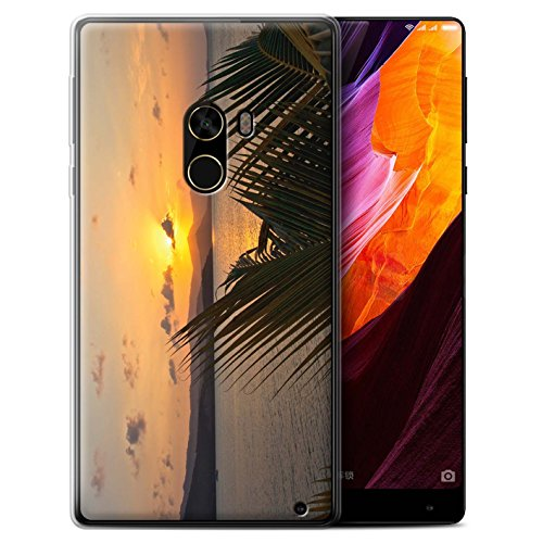 Stuff4® Phone Case/Cover/Skin/oth-gc/Sunset Scenery Collection Palme Xiaomi Mi Mix 2
