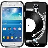 Custodia in silicone per Samsung Galaxy S4 Mini (GT-I9195) - Giradischi by AnishaCreations