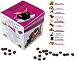aromatisierter Kaffee, Probierset 10 x 100 g Aromakffee , gemahlen als Filterkaffee zum verschenken in der GESCHENKBOX