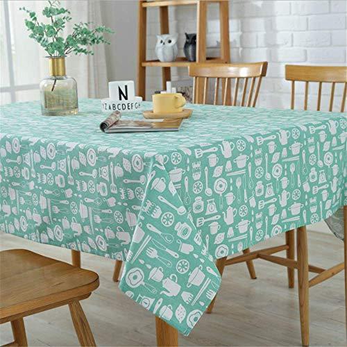 emischte Tischdecke-Moderne Tischdecken-Tuch-Restaurant-Möbel-Dekorations-Tischdecke für Küche B 140x200cm ()
