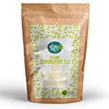 Organic Lemongrass Loose Tea By The Natural Health Market • Pure & Organic • Lemongrass Essential Oils • Organic Certified (50g)