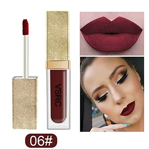 OYOTRIC 12 Lippenstift Moisture Smooth lipgloss Langlebig Lipgloss Kosmetik Beauty Make-Up (Brown Golden Lippenstift)
