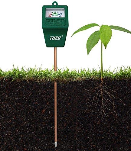 L'humidité compteur, capteur d'humidité intérieur/extérieur thzy M, eau du sol, moniteur, Hydromètre pour le jardinage, l'Agriculture