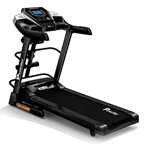 Powermax Fitness Tda-240M 2Hp (4Hp Peak) Motorized Treadmill With Auto-Inclination, Auto-Lubrication, Multifunction And Android/Ios Mobile App