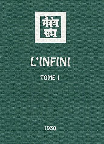 L'infini : Tome 1 por Agni Yoga