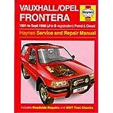 Vauxhall Frontera Service and Repair Manual
