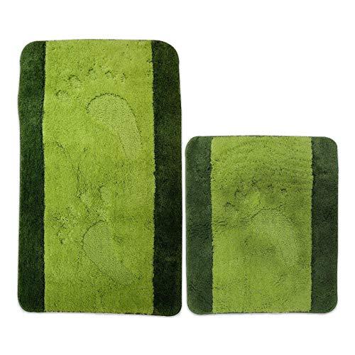 ROLLER Calimosa Badgarnitur - grün - Microfaser - 2-teilig