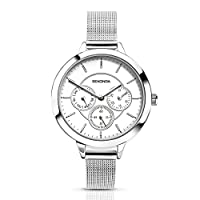SEKONDA Womens Analoog Klassiek Quartz Horloge met Geen Band 2367