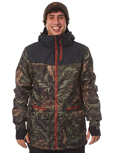 Light Herren Mens Jacket Saw Technical Outerwear, Rainforrest, S