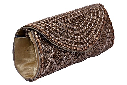 Craft Trade Mirror Clutch Bag For Women And Girls  available at amazon for Rs.448