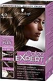 Schwarzkopf Color Expert Intensiv-Pflege Color-Creme, 4.0 Dunkelbraun Stufe 3, 3er Pack (3 x 167 ml)