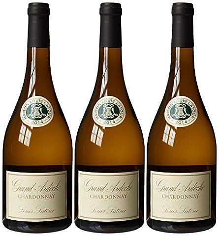 Louis Latour Grand Ardeche Chardonnay 2014 Wine 75 cl (Case of 3)