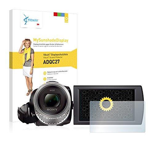 Vikuiti MySunshadeDisplay Displayschutzfolie ADQC27 von 3M passend für Sony FDR-AX53