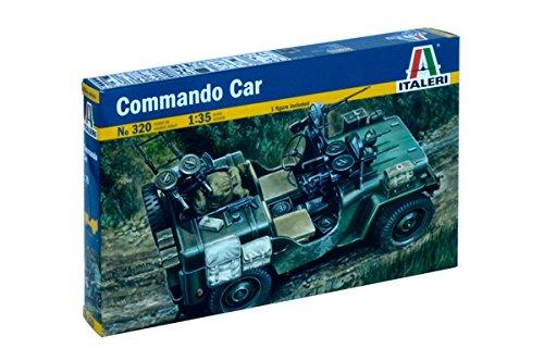 Italeri 0320 - commando car model kit scala 1:35