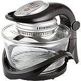 Usha Infiniti Cook Halogen Oven (3514I) 1300-Watt (Transparent Glass)