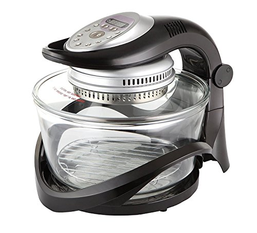 Usha 3514i 1300-Watt Infiniti Cook Halogen Oven (Transparent Glass)