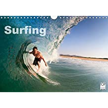 Surfing (Wall Calendar 2019 DIN A4 Landscape): A year in the surf from the Arctic Circle to the Tropics... (Monthly calendar, 14 pages ) (Calvendo Sports)