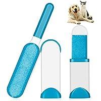 Hotchy Pet Pinsel, Fell & Fussel & Haar Entferner-Set mit selbstreinigender Basis für das Entfernen von Hunden- und Katzenhaar von Kleidung