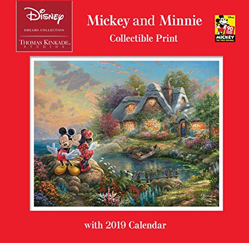 Disney Dreams Collection Mickey and Minnie 2019 Calendar: Includes Collectible Print par Thomas Kinkade