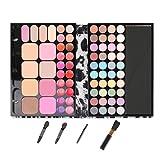 BrilliantDay set palette 72 colori per makeup cosmetici professionali, include rossetto ombretti lucidalabbra fard cipria fondotinta