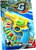 Akshata Kids Toy Gun with 10 Soft Bullet...
