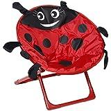 OUTAD Chaise Pliable Insecte pour Enfants Portable (Rouge)