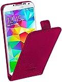 Pedea 11160084 Etui flip en cuir pour Samsung Galaxy S5 mini Magenta