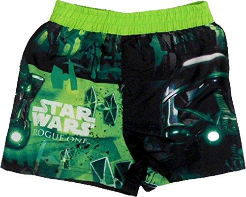 Preisvergleich Produktbild Disney Star Wars Badeshort Badehose (140, Grün)