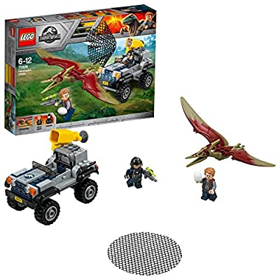 LEGO 75926 Jurassic World Fallen Kingdom Pteranodon Chase Playset, Dinosaur Toy, Fun Building Sets for Kids